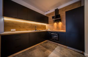 Apratament Koszalin Black Kitchen 27